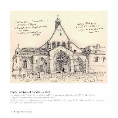 Façade de l'église Saint-Ayoul