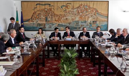 Portugal - Concertação: Entidades patronais classificam primeira reunião como positiva