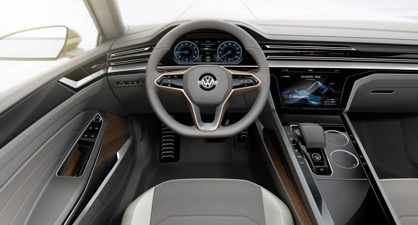 VW Sport Coupe Concept GTE - painel
