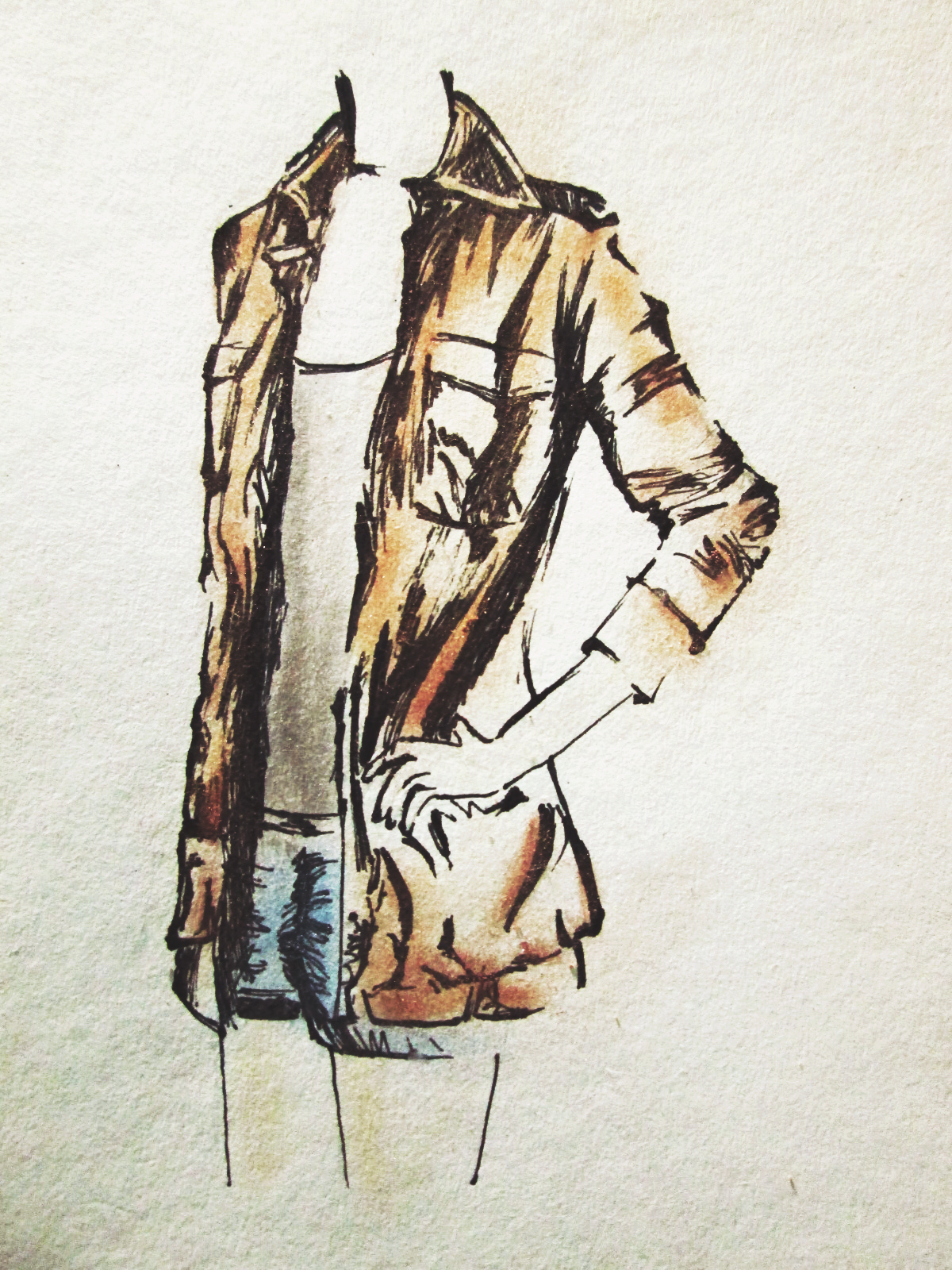 parka jacket illustration