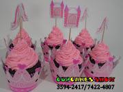 Cupcakes tradicionais das Princesas