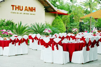 địa điểm cưới tại tphcm Thu Anh Garden Restaurant