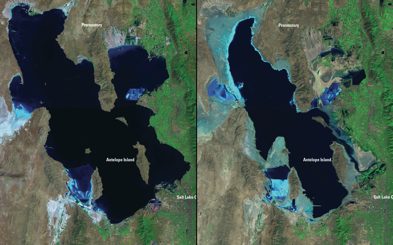 Wasatch Weather Weenies Does Size Matter For Lake Effect - Great salt lake us map