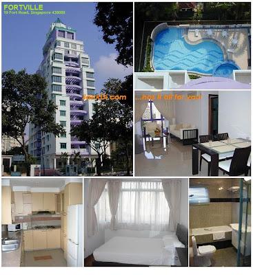 FORTVILLE Singapore Cheap Singapore Rental Cheap Apartment Cheap Houses in Singapore Rent in Singapore