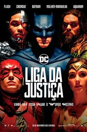Liga da Justiça - IMAX Blu-Ray Filmes Torrent Download capa