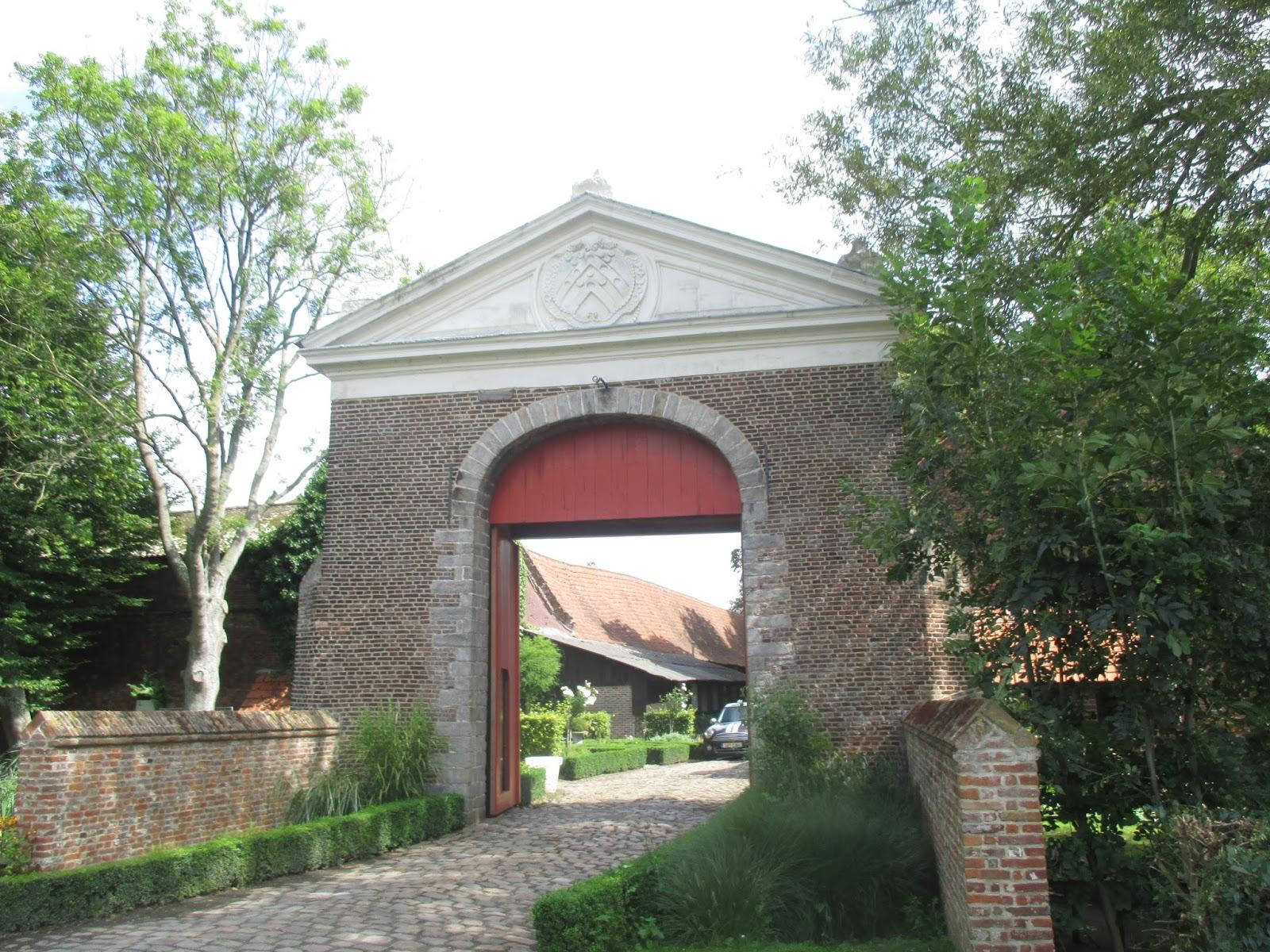 poort kloosterhoeve Guldenbergabdij
