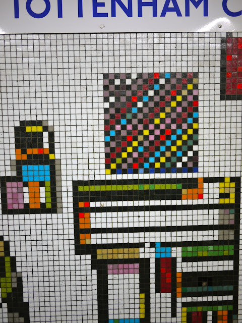 Eduardo Paolozzi mosaics at Tottenham Court Road station, Photo: Bill Hicks