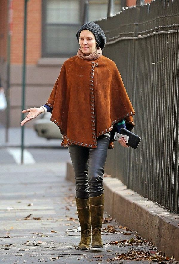 Sounds like it got pretty charm for the 44-year-old as she walked up in style even she's not going to work at New York, USA on Thursday, December 18, 2014.