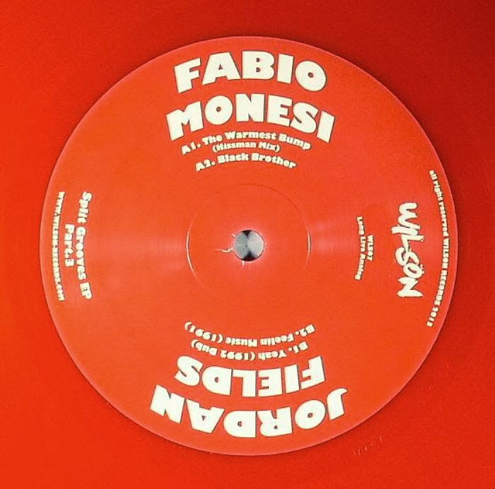 Discosafari - FABIO MONESI / JORDAN FIELDS - Split Groove Ep Part 3 - Wilson Records