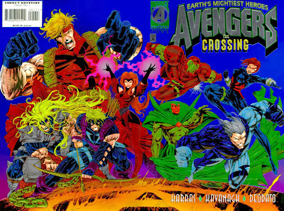 Avengers Crossing Cover