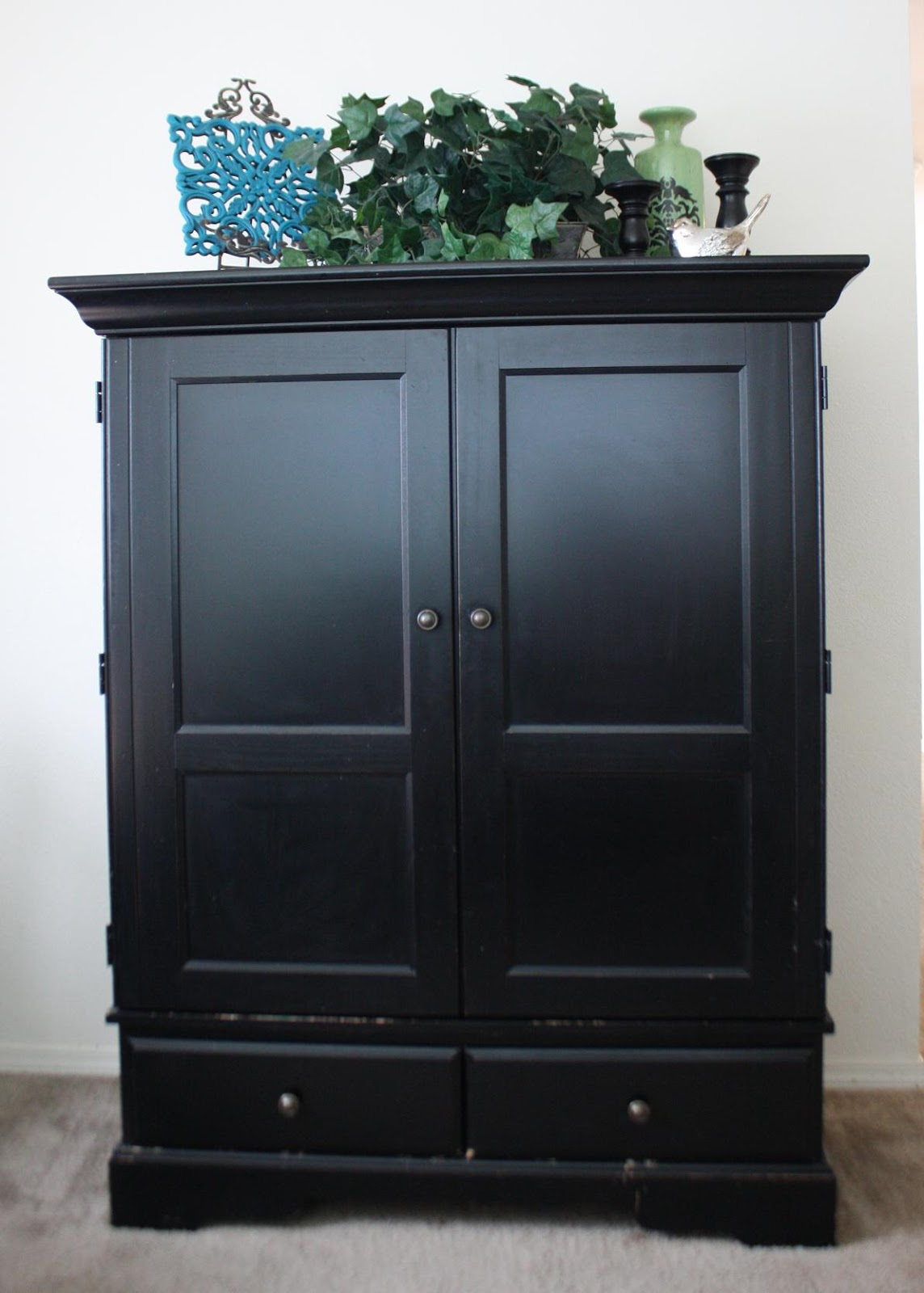 Solid Wood Tv Armoire ~ Black tv armoire audidatlevante
