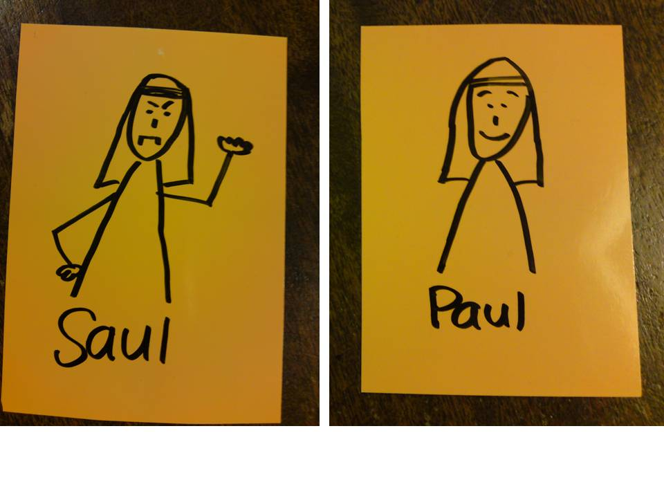 Saul to Paul Craft http://hosannakids.blogspot.com/2011/03/saul-meets-jesus-on-road-to-damascus.html