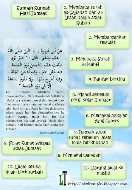 Sunnah Hari Jumaat