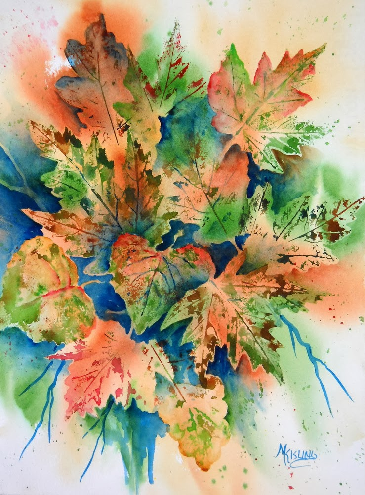 Martha Kisling Art With Heart : Autumn Leaves as ...