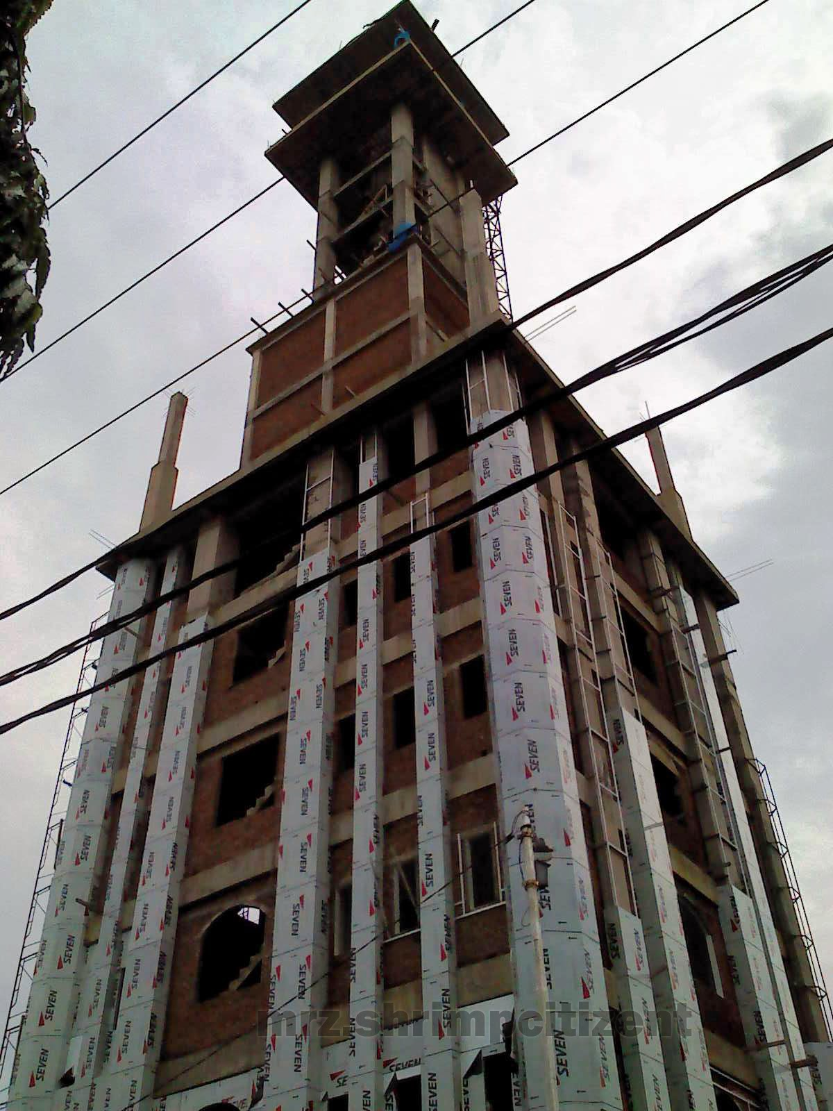 Pembangunan Menara Masjid Agung Sumber, Kab. Cirebon 1