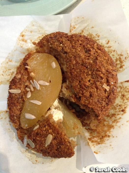 pear bran muffin $ 4 50 an s bran muffin