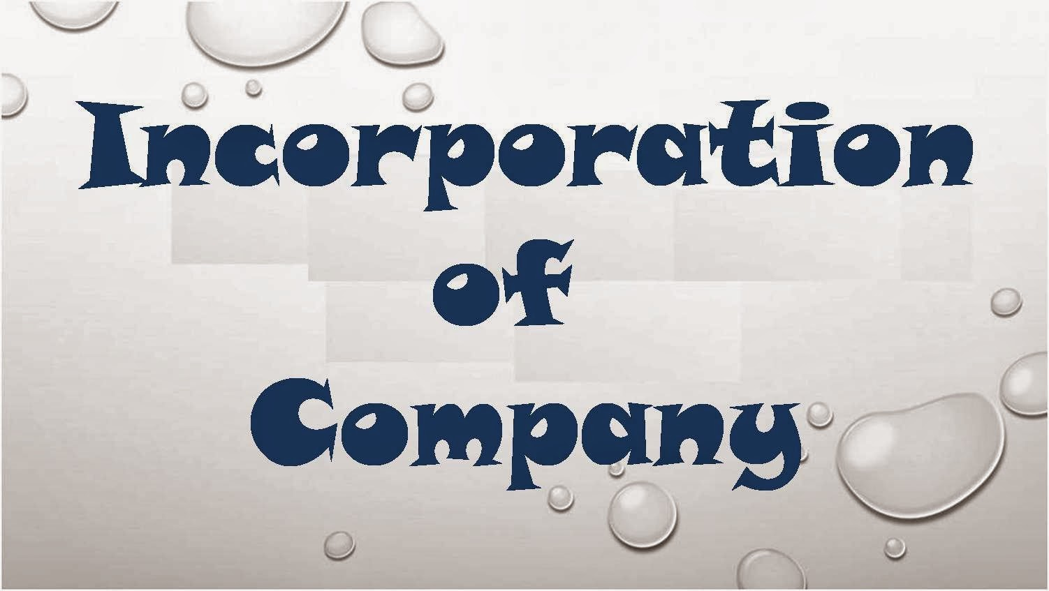 incorporation of overseas investment company in All other singapore-incorporated companies must use frs unless the accounting and corporate regulatory  (dtd) scheme for overseas investment and market.