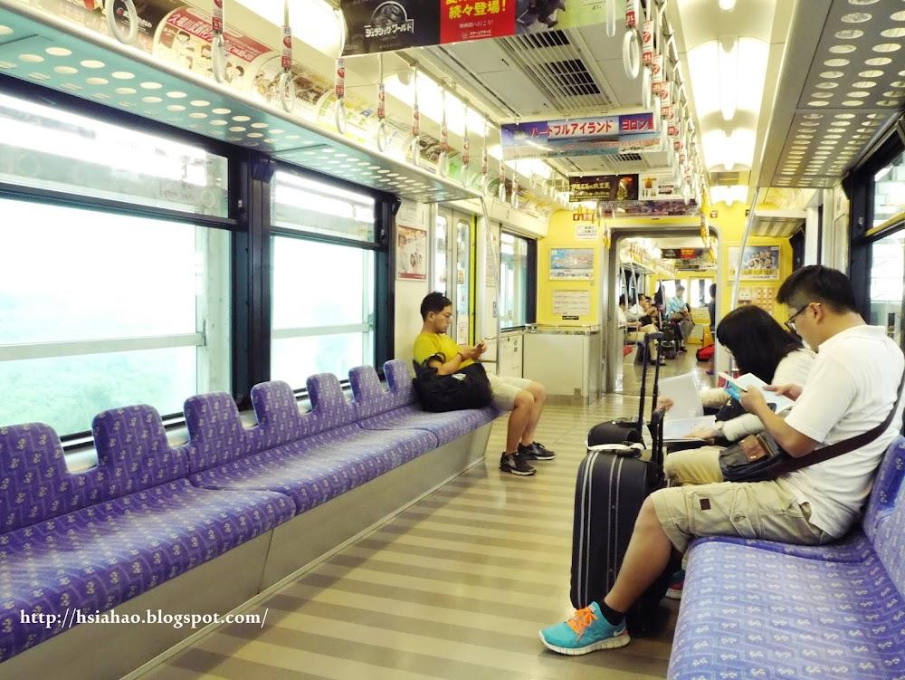 沖繩-交通-單軌電車-電車車廂-自由行-旅遊-旅行-Okinawa-yui-rail- transport-train