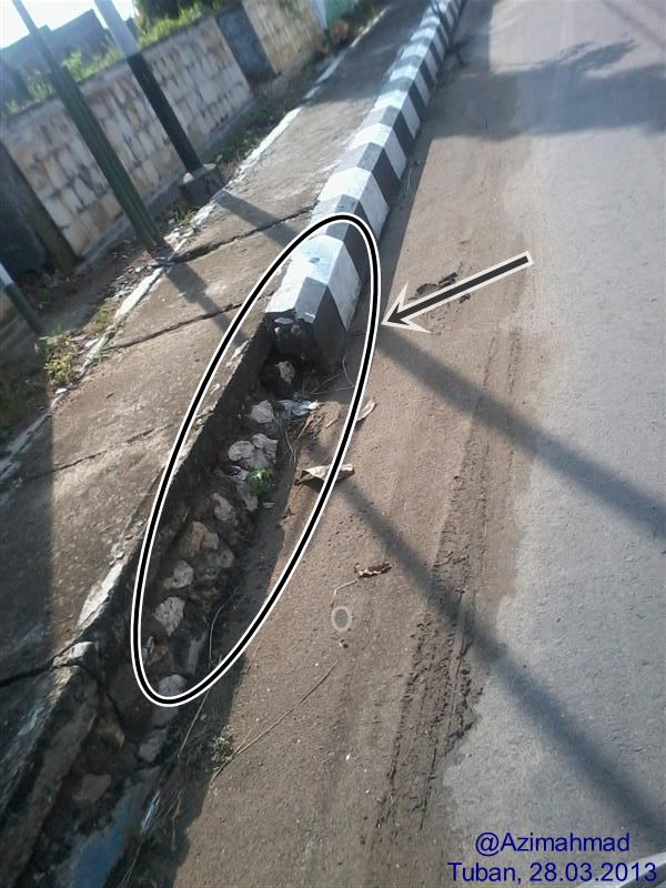 Kartunet Kampanye Aksesibilitas Tanpa Batas, Kondisi trotoar Kabupaten Tuban