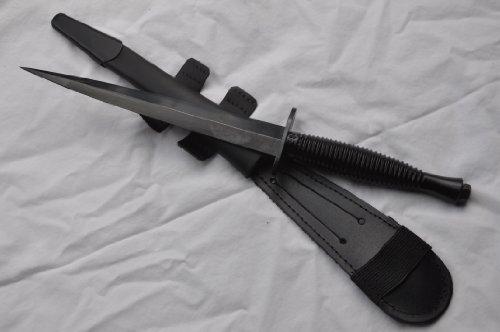 Pisau Komando GENUINE BLACK COMMANDO KNIFE SHEFFIELD FAIRBAIRN SYKES J NOWILL AND SONS