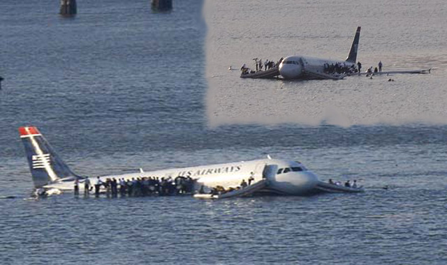 United States Airway flight from La Guardia Airport Crashed because of Bird
