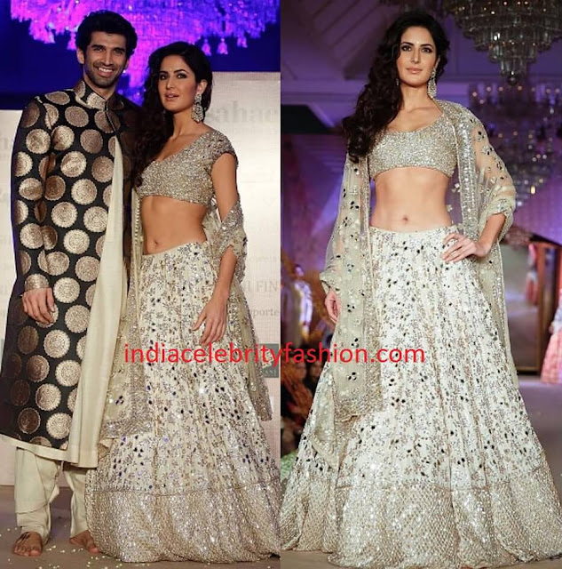 Aditya Roy Kapoor and Katrina Kaif in Bridal Attire