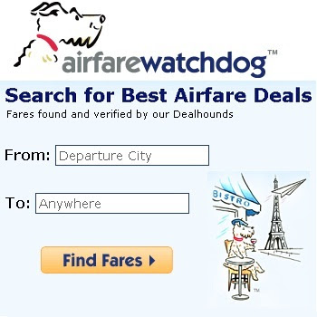 AirfareWatchdog.com: Find Promo Codes for Cheap Flight