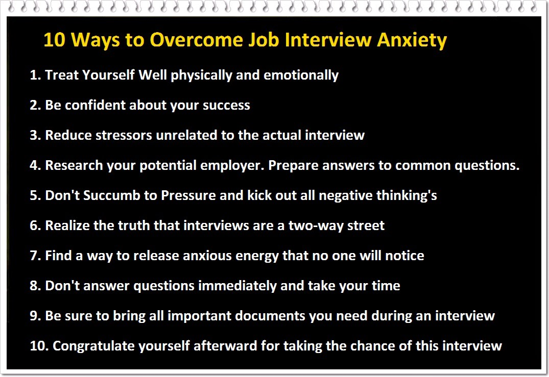 How To Stop Nervousness And Anxiety