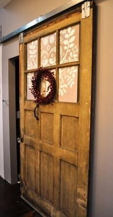 Ohio City Cottage - Sliding Barn Door