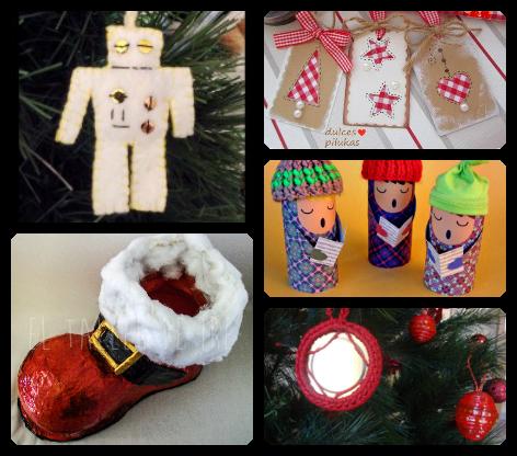 5 adornos originales para navidad el taller de ire - Adornos navidad originales ...
