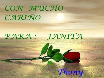 Gracias Thony