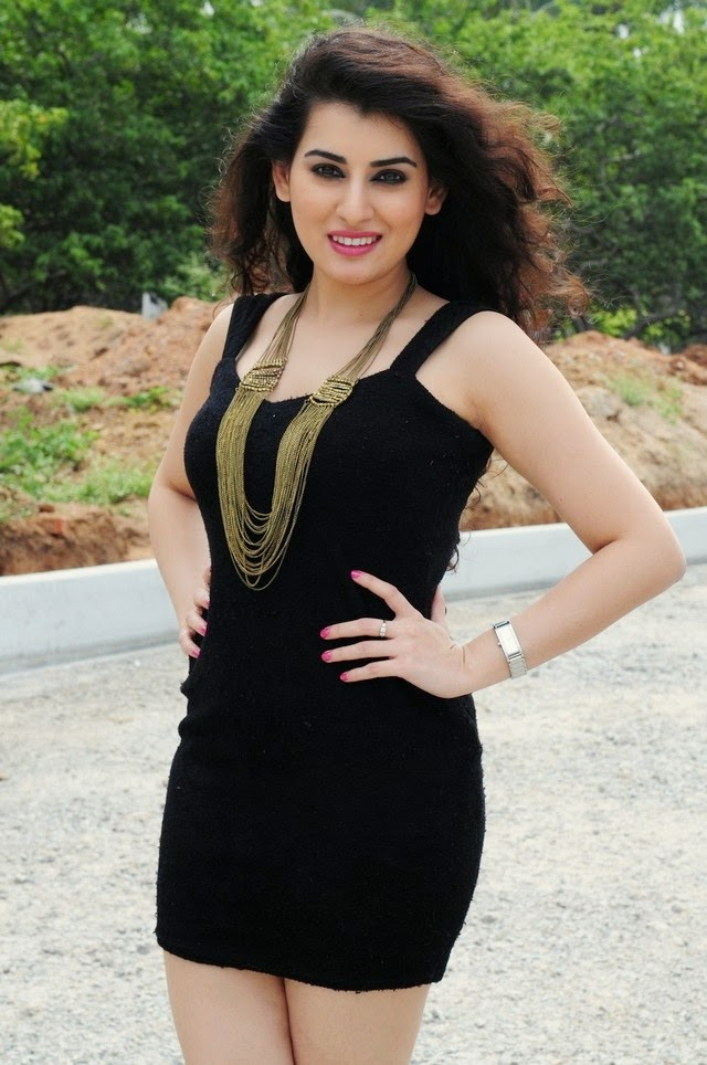 Archana In Black Dress New Hot Photos