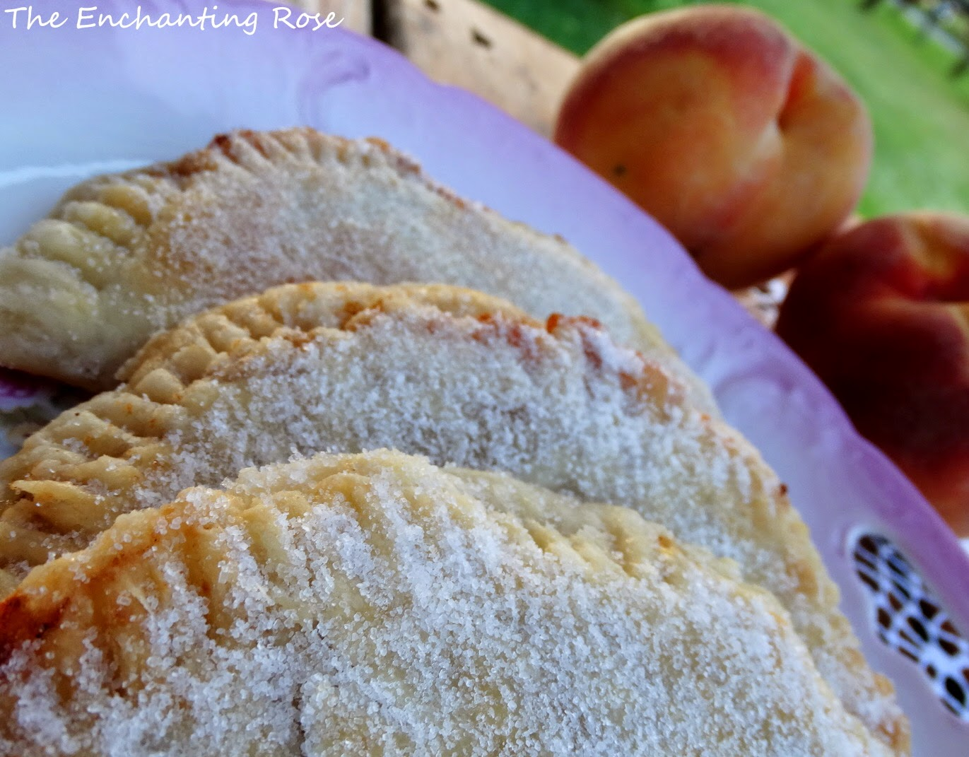 Enjoy the sweet taste of peaches in these delicious fried pies.
