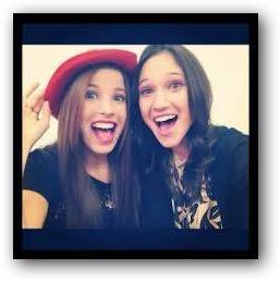 Francesca y Camila juntas