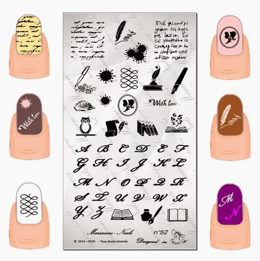 Lacquer Lockdown - Marianne Nails Nail Art Stamping Plates, Marianne nail art plates, marinane stamping plates, nail art, nail art stamping blog, new nail art stamping plates 2014, new nail art image plates 2014, new nail art plates 2014, stamping, new nail plates 2014, diy nail art, cute nail art ideas, new nail art ideas, racing nail art