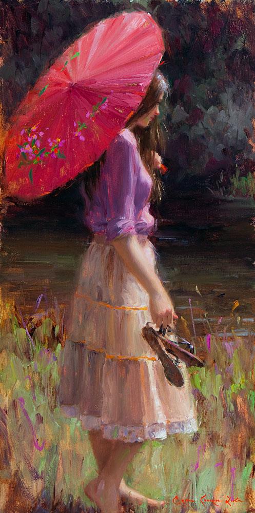 ryce  Liston  Pink  Parasol