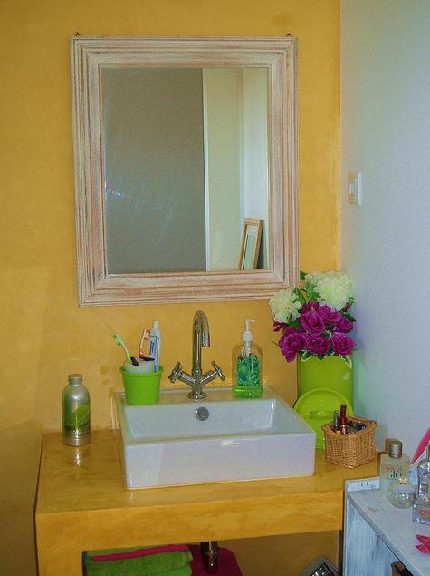 lavabo colorido