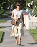 Eva Mendes out in LA