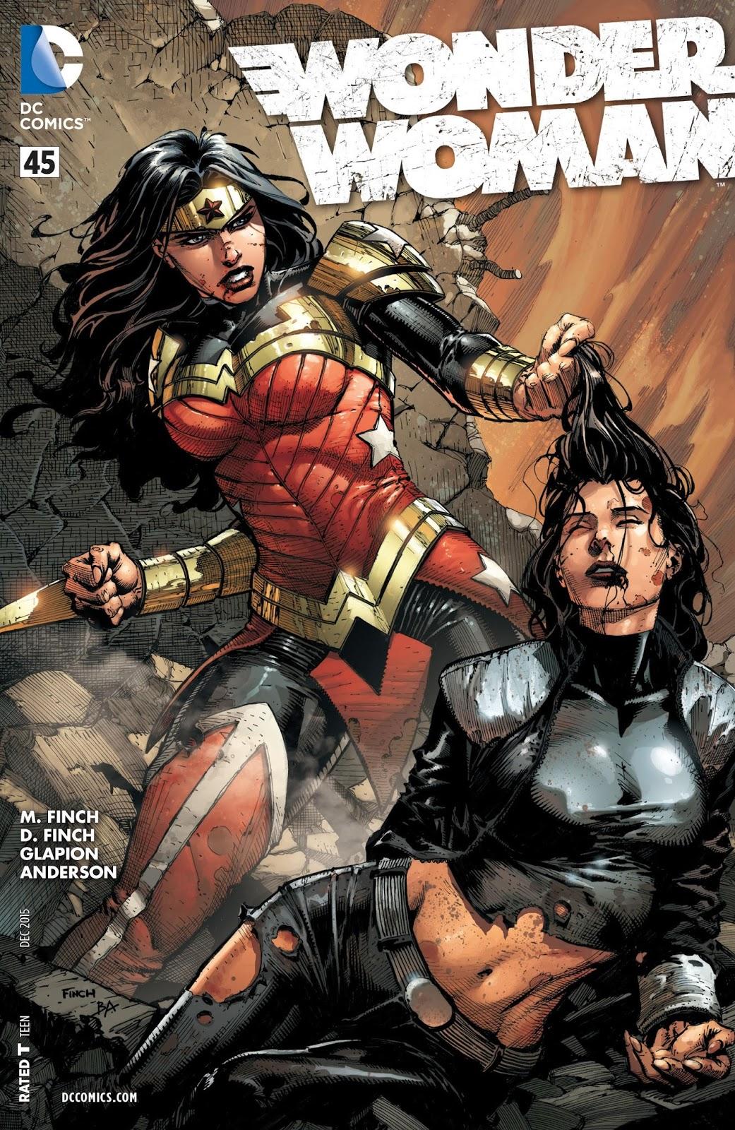 Wonder woman comic cover new 52