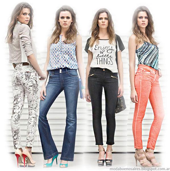 Markova jeans moda verano 2014. Pantalones de mujer.