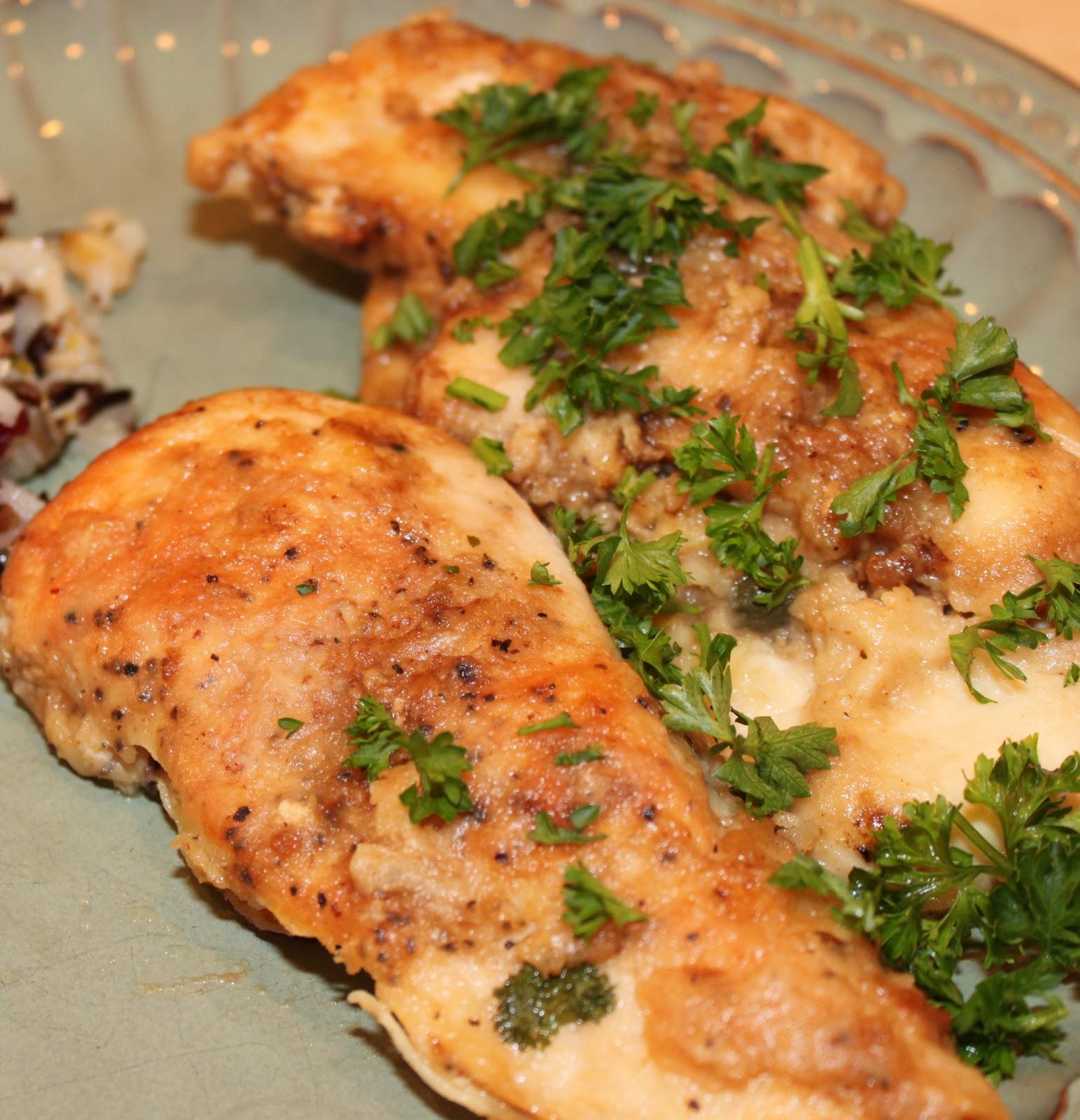 Chicken Piccata | Dina's Diner