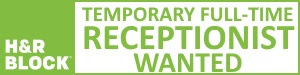 H&R Block receptionist