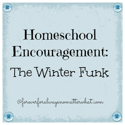 Homeschool Encouragement: The Winter Funk