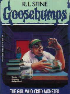 R.L. Stine - The Girl Who Cried Monster