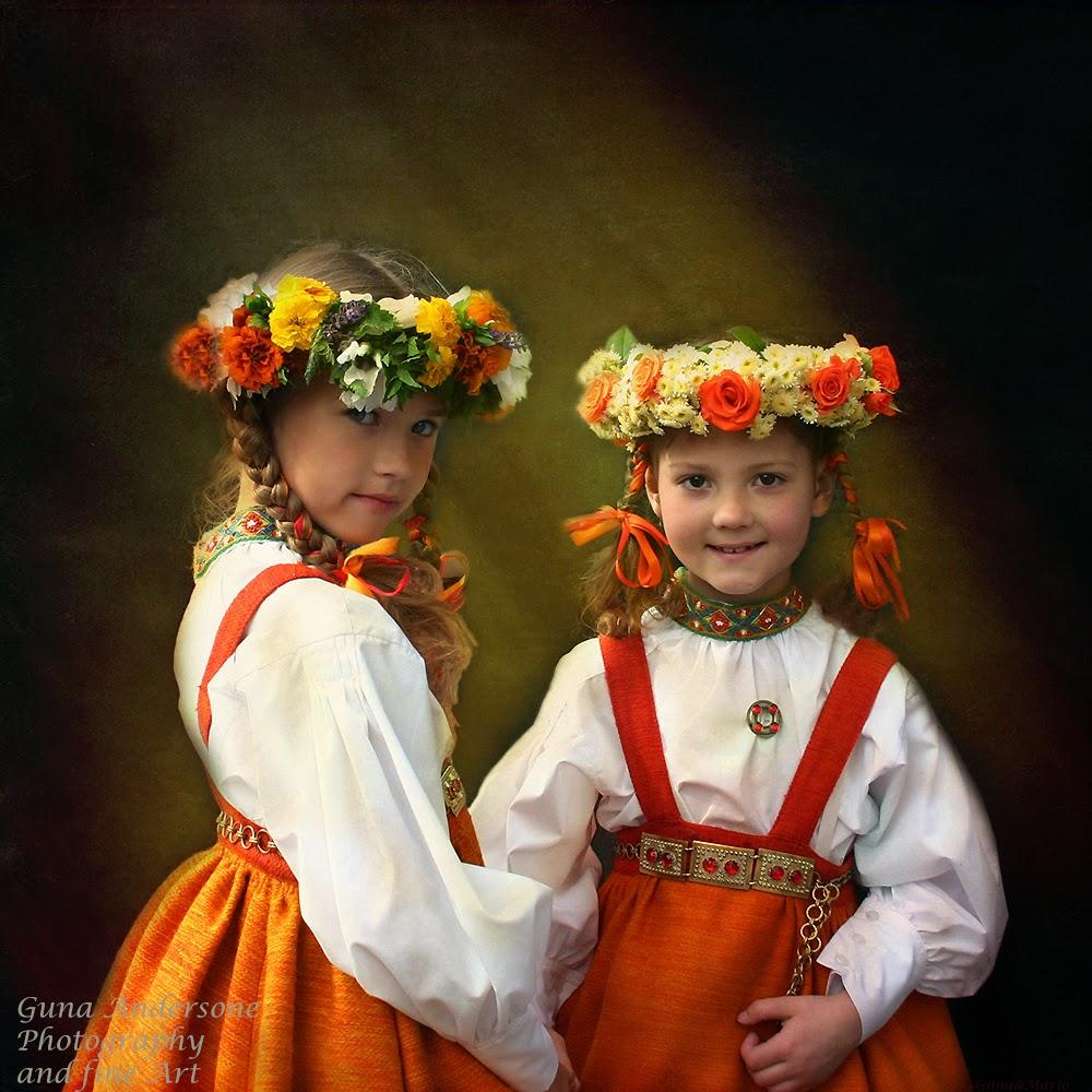 gunadesign guna andersone the Song and Dance Celebration Latvia Riga girls