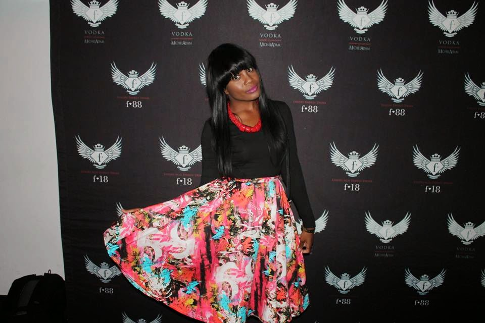 Pauline shiweda, Vakwetu, Floral skirt, @vakwetu, the look
