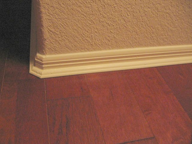 baseboard and trim corner for hardwood floors