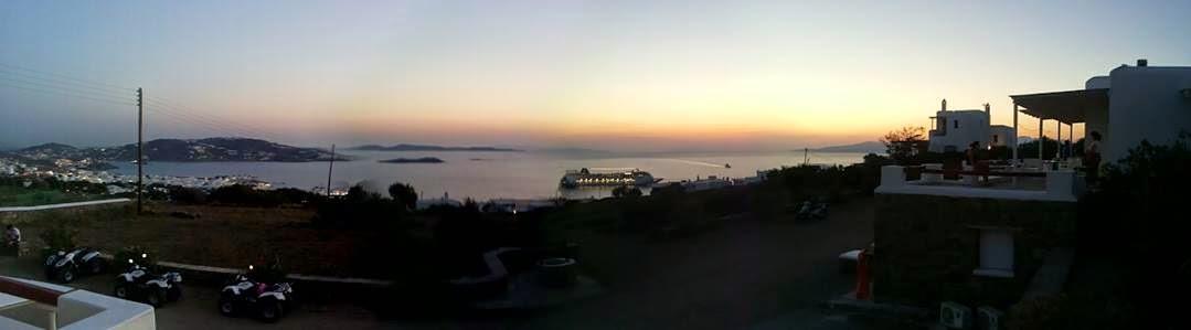 Mykonos vista dagli studios