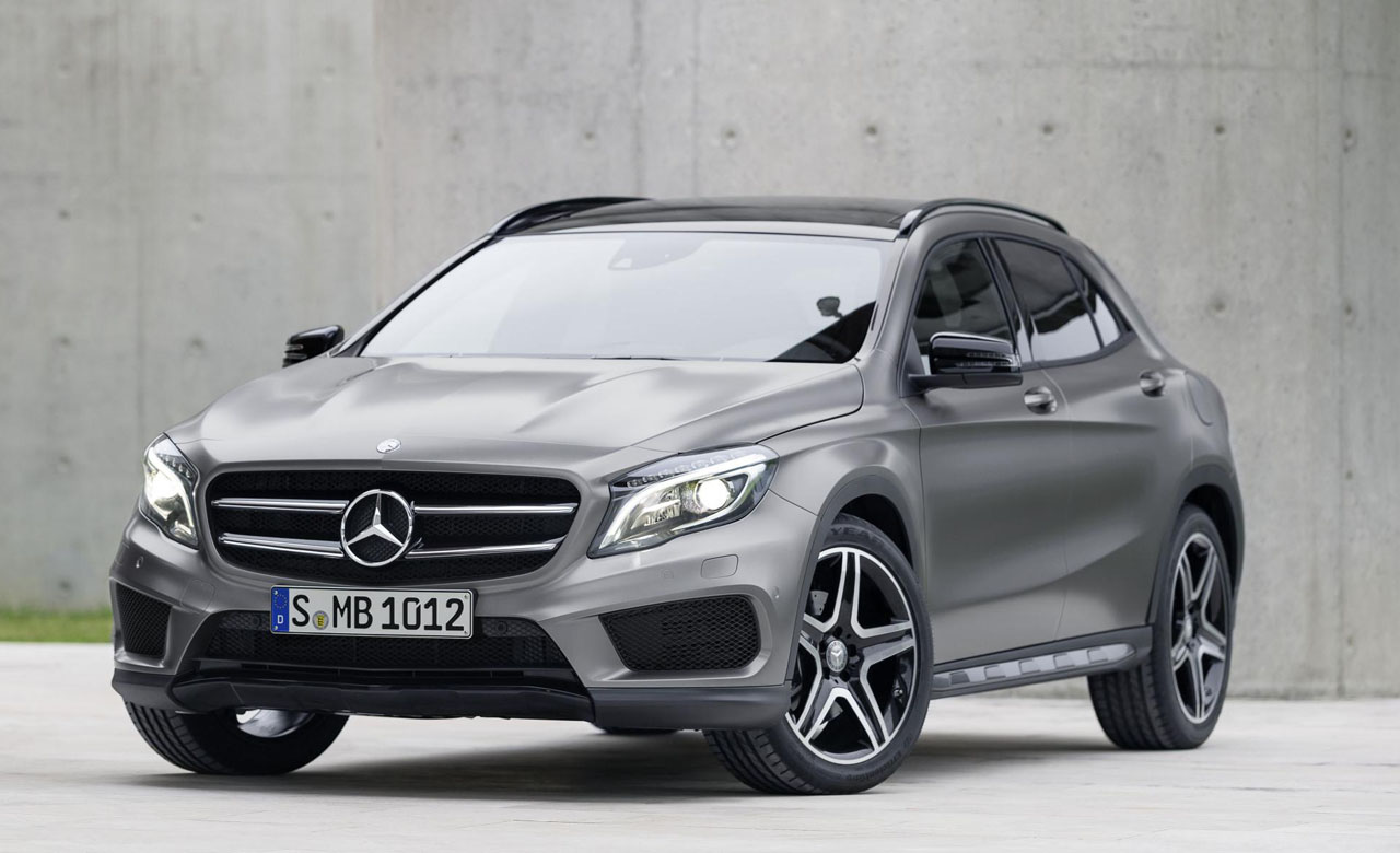 2013 2014 compact suv autos weblog for Small mercedes benz