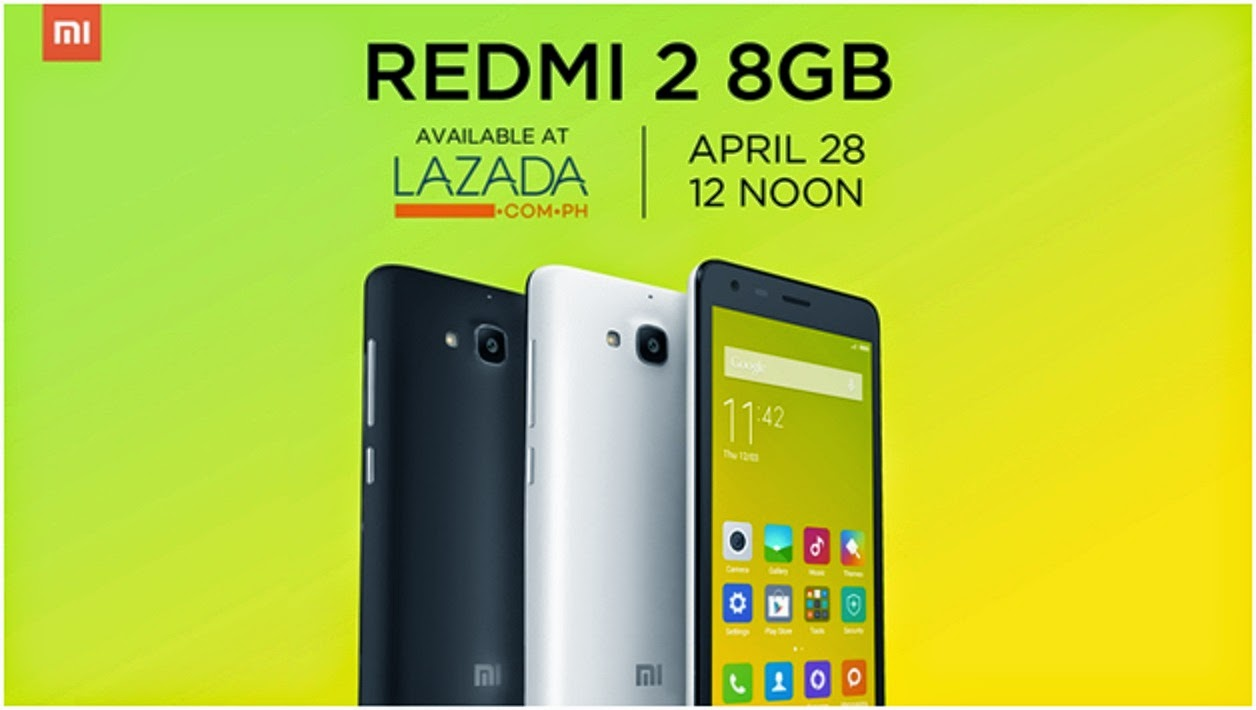 Xiaomi Redmi 2 Specs, Price and Availability